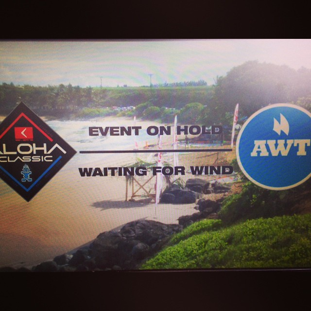 Live cast will be live as soon as the action is at http://www.alohaclassicmaui.com/go-live/ follow all the action from day two of the Starboard Severne #AlohaClassic starting off with the pro men of the #awt